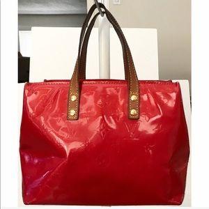 Authentic Louis Vuitton Monogram Vernis Reade Bag